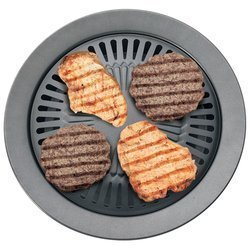 Chefmaster KTGR5 13-Inch Smokeless Stovetop Barbecue Grill by Chefmaster