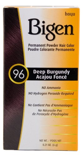 #96 Deep Burgundy Permanent Hair Color