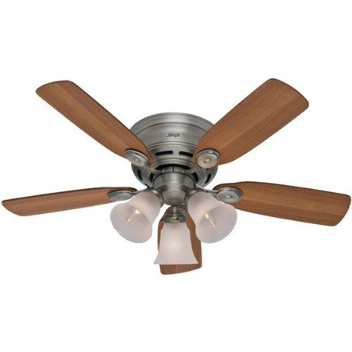 """... Plus Antique Pewter Flush Mount 42"""" Ceiling Fan - Ceiling Fans Sale"""