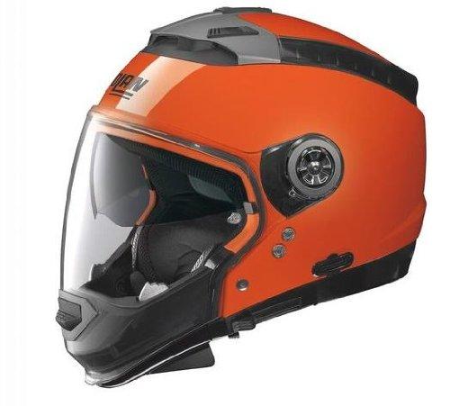 Nolan N44 Hi-Visibility Helmet (Hi-Vis Orange, XX-Large)