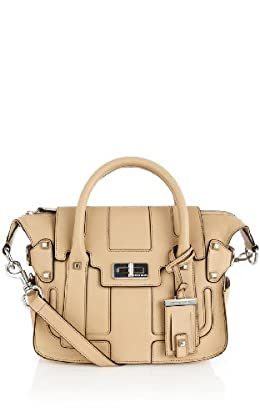 Modern Classic Turnlock Satchel