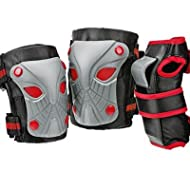 Bone Shieldz Cruiser Youth Tri Pack Protective Pads - Black - 5055Y