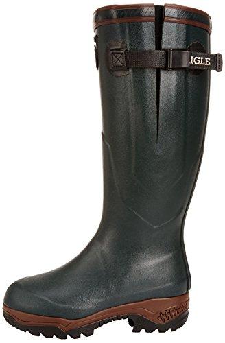 Aigle Parcours 2 Iso Gummistiefel 8421 Unisex-Erwachsene Warm gefüttert Gummistiefel Langschaft Stiefel & Stiefeletten, Grün (Bronze 7), 46 -