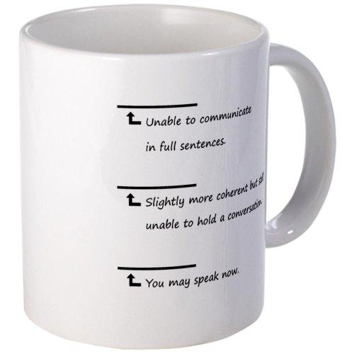 Cafepress Caffeine Communication Small Mug - Standard Multi-Color