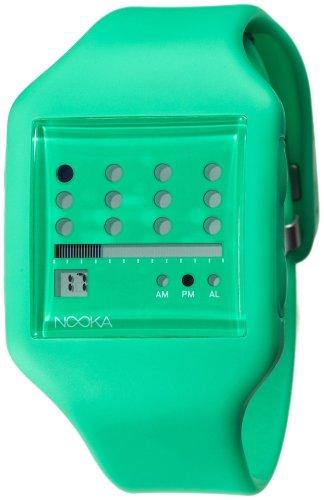 Nooka Unisex Zub Zot 20 Green Watch ZUB ZOT GR 20