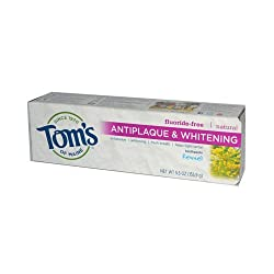 Toms of Maine Antiplaque and Whitening Toothpaste Fennel - 5.5 oz - Case of 6