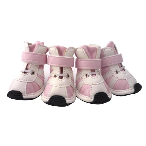 LOVEPET Adorable Dog Sneaker, Dog Shoes, Durable Boot For Dog, Pink S / M / L, Dogs Costume M