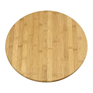 KAMENSTEIN Revolving Bamboo Lazy Susan Tray, 14-Inch at Sears.com