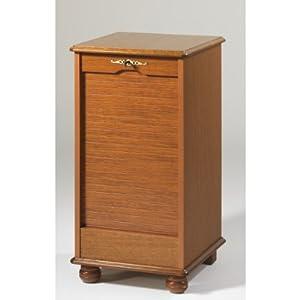 Mister meubles classeur rideau style rustique touraine i - Meuble classeur rideau ...
