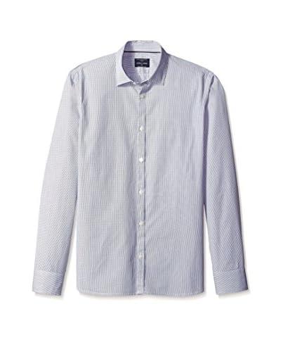 Color Siete Men's Long Sleeve Howard Striped Shirt