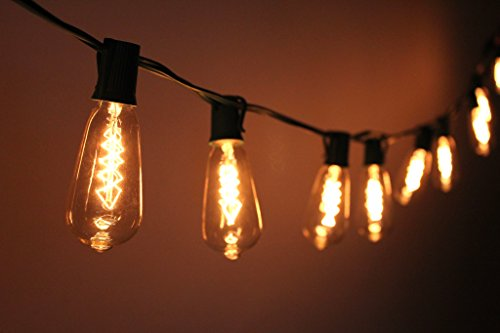 top 5 best string edison lights for sale 2016 product boomsbeat. Black Bedroom Furniture Sets. Home Design Ideas