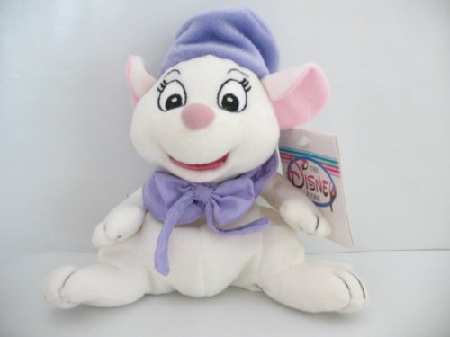 Disney the Rescuers Bianca Bean Bag Toy - 1