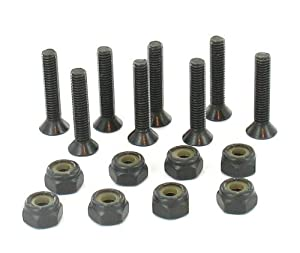 Skateboard Deck Screws (Skate Deck to Truck Mounting Hardware) by Palidades