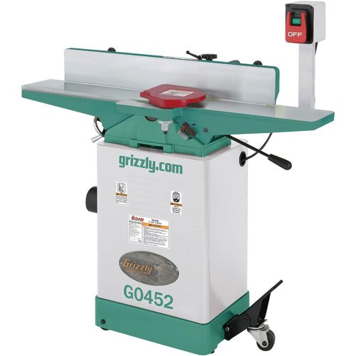 Grizzly G0452 Jointer, 6-Inch