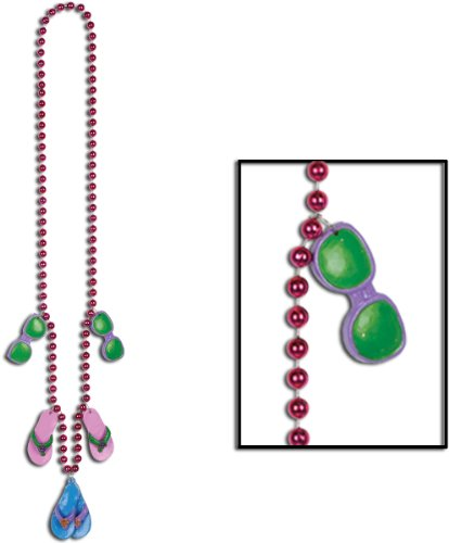 Beads W/Flip Flop Medallions front-1001857