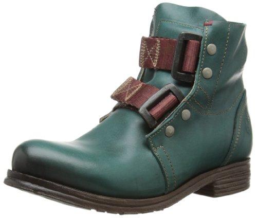 Fly London SKA Biker Boots Women's Turquoise Petrol/Türkis Size: 39