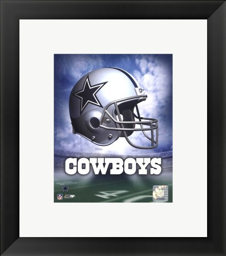 Dallas Cowboys Helmet Logo Framed Photo, Size 14.75 X 16.75 at Amazon.com