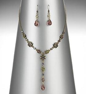 Y Design Floral Necklace