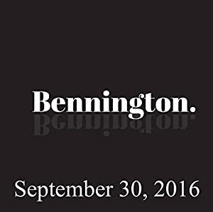 Ron Bennington Archive, September 30, 2016 Radio/TV Program