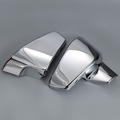 Chrome Battery Side Covers Fit Honda VT 600 C CD Shadow VLX Deluxe 1999-2007 (Honda Shadow Chrome Side Covers compare prices)