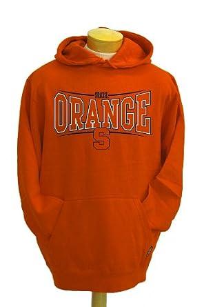 NCAA Mens Syracuse Orangemen Brody Hooded Sweatshirt by CI Sport