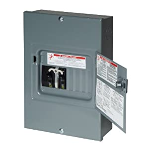 Square D By Schneider Electric Qo 60 Amp 4 Space 8 Circuit