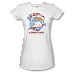 Dexter's Laboratory Quickly Ladies Junior Fit T-Shirt