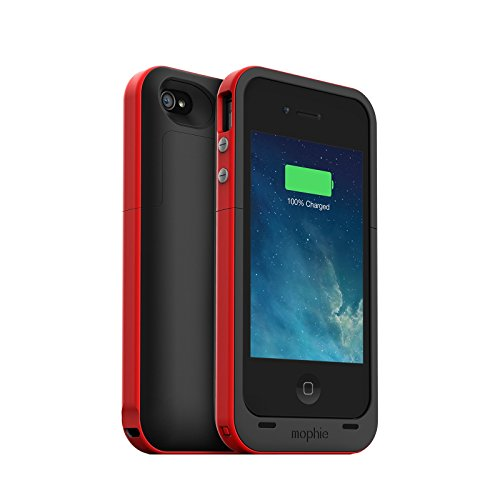 Mophie 2,000mAh Juice Pack 'Plus' Battery Case for Apple iPhone 4/4s - Red (Certified Refurbished) (Mophie Iphone 4s Juice Pack compare prices)
