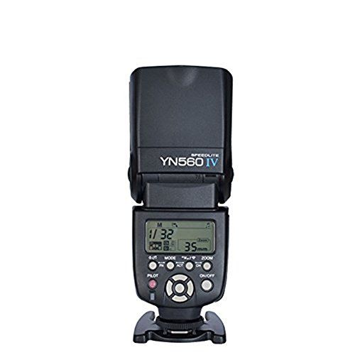Yongnuo YN560 IV 2.4G Wireless Flash Speedlite +Yongnuo RF-603 II N3 Transmitter and Receiver with N3 Cable Wireless Flash Trigger for Nikon