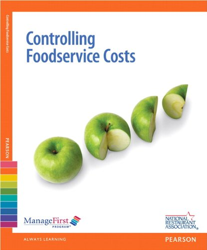 ManageFirst: Controlling FoodService Costs with Online Testing Voucher (2nd Edition) (National Restaurant Association) PDF