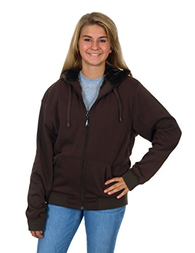 womens-full-zip-up-hoodie-with-shimmer-fleece-lining-xx-large-brown
