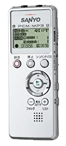 SANYO リニアPCMレコーダー(シルバー) [ICR-PS004M(S)]