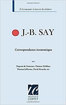Correpondance Economique (French Edition)