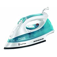 Russell Hobbs 15081 Steamglide Iron in White and Blue - 2400 W