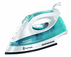Russell Hobbs 15081 Steamglide Iron - 2400 W - White and Blue