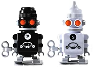 SUCK UK Salt and Pepper Robot Shakers