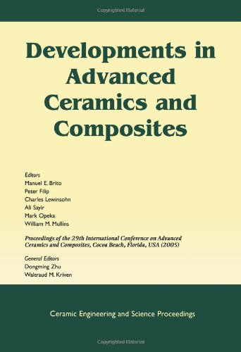 Developments In Advanced Ceramics And Composites: A Collection Of Papers Presented At The 29Th International Conference On Advanced Ceramics And ... Ceramic Engineering And Science Proceedings