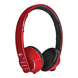 MEE audio Runaway 4.0 Bluetooth Stereo Wireless + Wired Headphones with Microphone (Red)