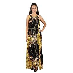 Tenn Women's Maxi Dress (BKYWPG11FSXS_XX-Large_Multi)