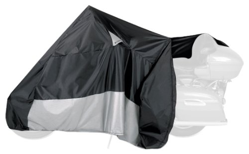 Dowco 50021-00 Guardian WeatherAll Plus Black XX-Large EZ Zip Motorcycle Cover
