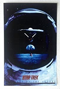 Star Trek:The Face of the Future 25th Anniversary 1991 11 x 17 Poster Lithograph