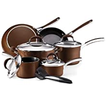 Farberware Affiniti 12-Piece Cookware Set Bronze