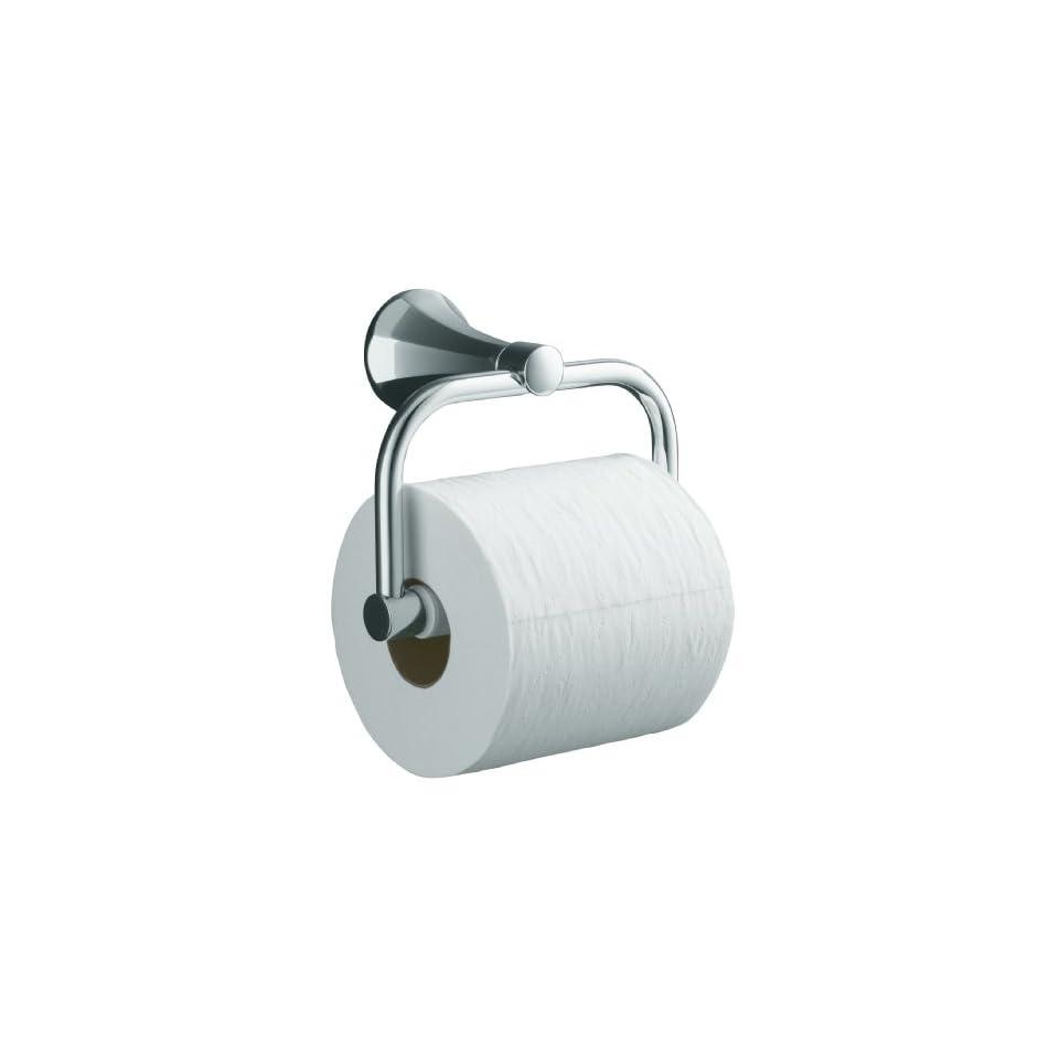 KOHLER K 480 CP Memoirs Toilet Tissue Holder with Classic Design, Polished Chrome