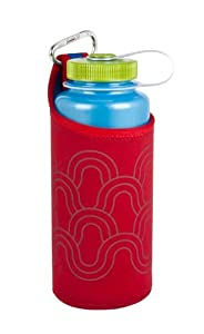 Nalgene Bottle Sleeve (Red/Waves, 32-Ounce)