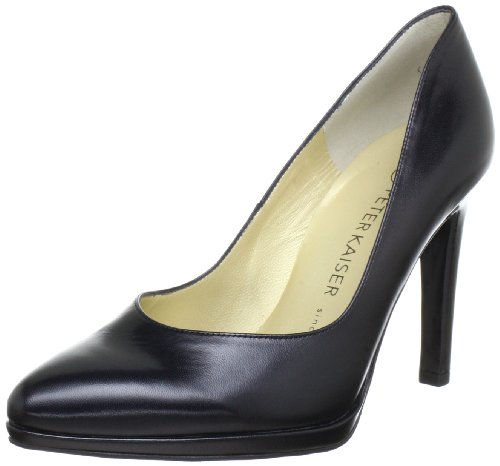 Peter Kaiser HERDI Plateau Women's black Schwarz (SCHWARZ CHEVRO 100) Size: 39.5