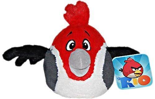 Commonwealth - Angry Birds Rio Plüsch 20 cm - Pedro