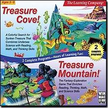 Treasure Cove and Mountain (Jewel Case)
