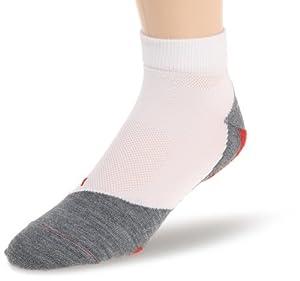 Falke RU 5 Lightweight Short Men's Running Socks - White, 5-7