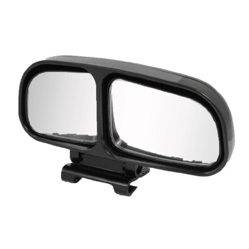 Right Side Rear View Blind Spot Auxiliary Mirror Black for Truck Car