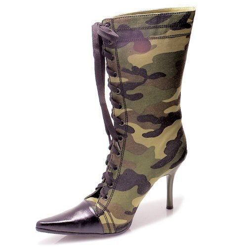 Camouflage Boots - Size 7